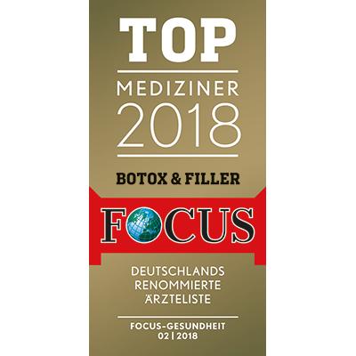 Sommerclinics ist TOP-Mediziner in der Focus Ärzteliste für Botox & Filler